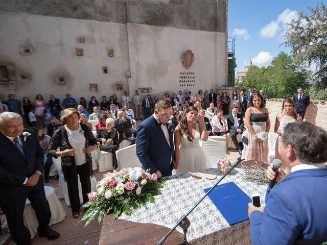 Il matrimonio di Francesco e Serena a Orsogna, Chieti 30