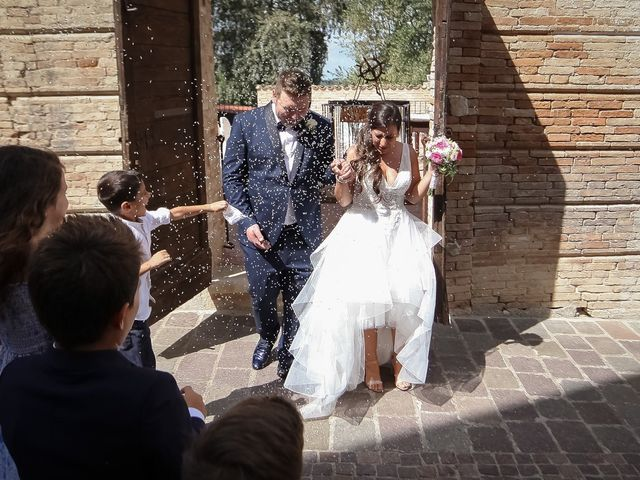 Il matrimonio di Francesco e Serena a Orsogna, Chieti 36