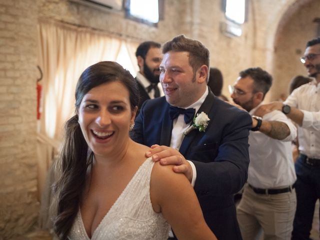 Il matrimonio di Francesco e Serena a Orsogna, Chieti 54