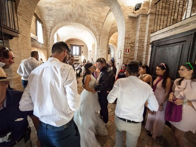 Il matrimonio di Francesco e Serena a Orsogna, Chieti 62