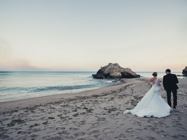 le nozze di Danilo e Fabiana