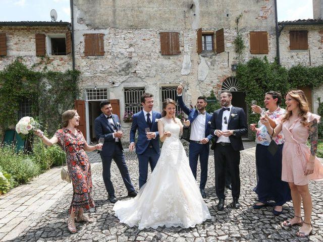 Il matrimonio di Nicola e Silvia a Rovolon, Padova 13