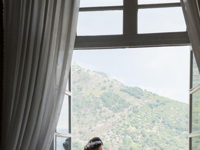 Il matrimonio di Diego e Alessandra a Castel San Giorgio, Salerno 17
