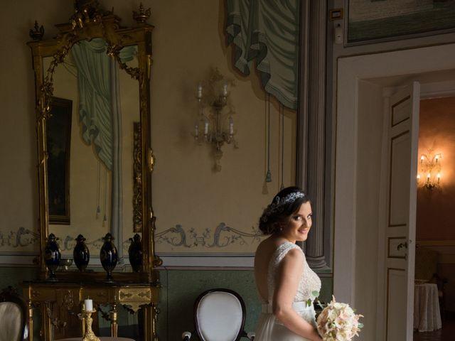 Il matrimonio di Diego e Alessandra a Castel San Giorgio, Salerno 18