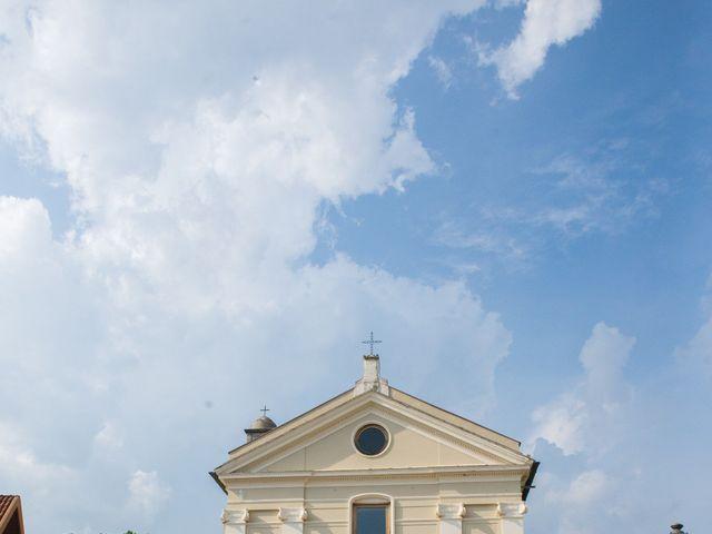 Il matrimonio di Diego e Alessandra a Castel San Giorgio, Salerno 24