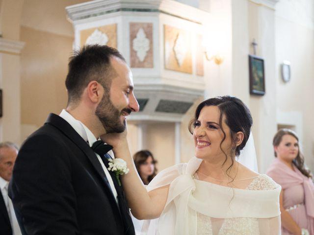 Il matrimonio di Diego e Alessandra a Castel San Giorgio, Salerno 27