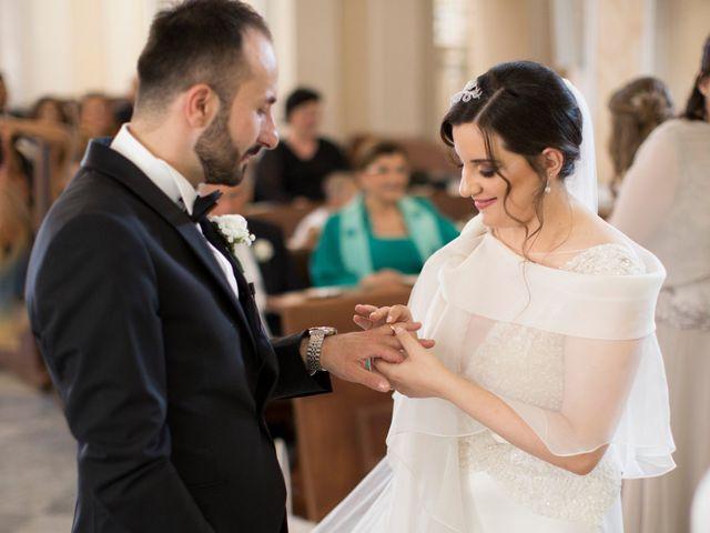 Il matrimonio di Diego e Alessandra a Castel San Giorgio, Salerno 29