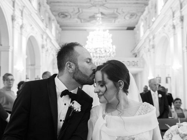 Il matrimonio di Diego e Alessandra a Castel San Giorgio, Salerno 30