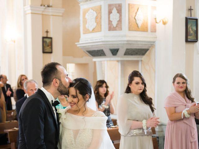 Il matrimonio di Diego e Alessandra a Castel San Giorgio, Salerno 31