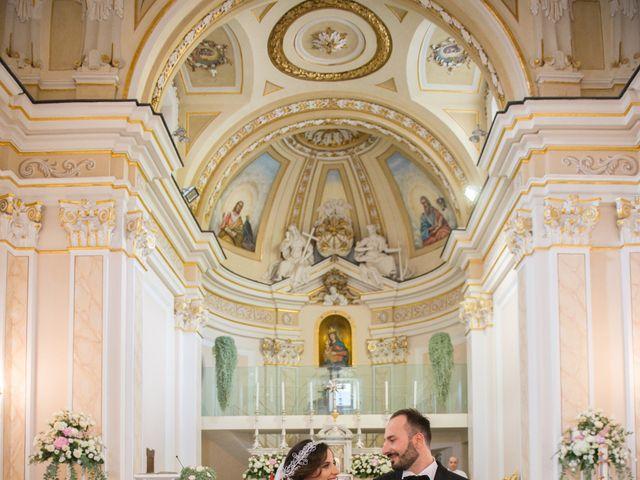 Il matrimonio di Diego e Alessandra a Castel San Giorgio, Salerno 32