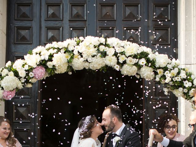 Il matrimonio di Diego e Alessandra a Castel San Giorgio, Salerno 34
