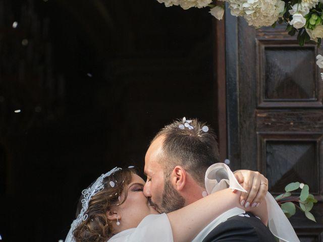 Il matrimonio di Diego e Alessandra a Castel San Giorgio, Salerno 35