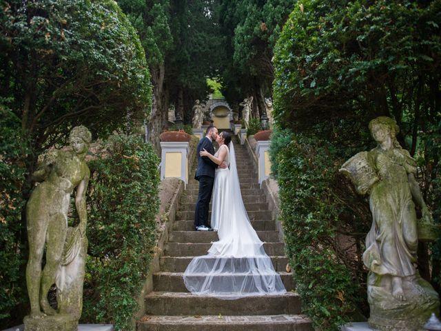 Il matrimonio di Diego e Alessandra a Castel San Giorgio, Salerno 36