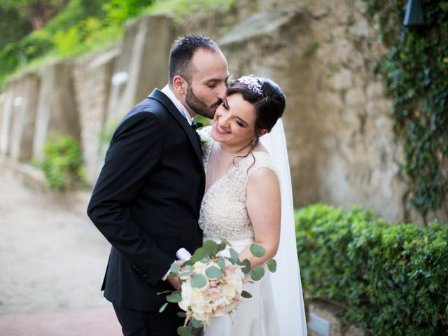 Il matrimonio di Diego e Alessandra a Castel San Giorgio, Salerno 37
