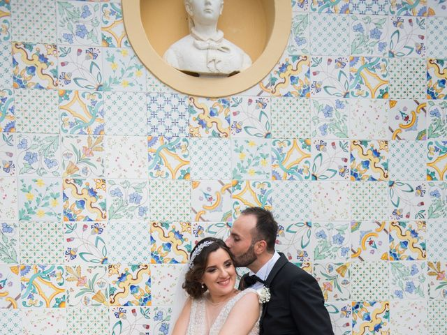 Il matrimonio di Diego e Alessandra a Castel San Giorgio, Salerno 39