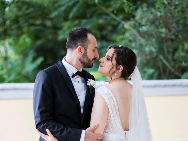 Il matrimonio di Diego e Alessandra a Castel San Giorgio, Salerno 42