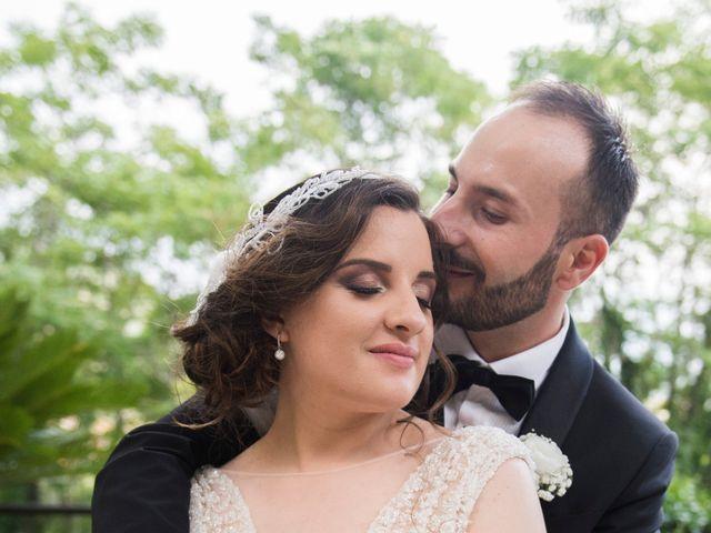 Il matrimonio di Diego e Alessandra a Castel San Giorgio, Salerno 44