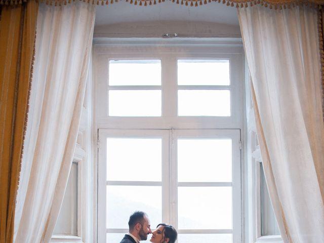 Il matrimonio di Diego e Alessandra a Castel San Giorgio, Salerno 45