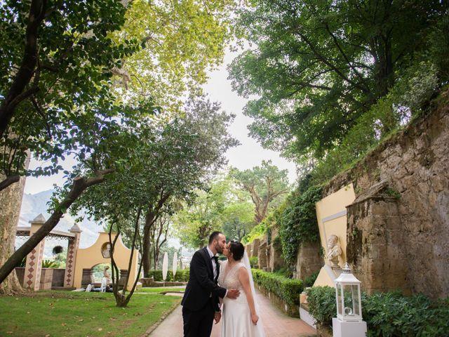 Il matrimonio di Diego e Alessandra a Castel San Giorgio, Salerno 43