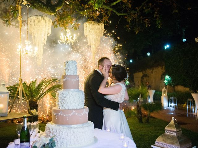 Il matrimonio di Diego e Alessandra a Castel San Giorgio, Salerno 55