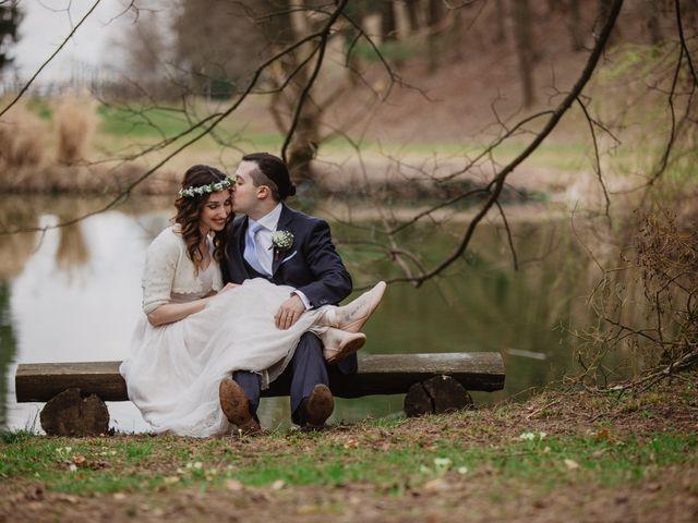 Le nozze di Tania e Mike
