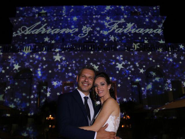 Le nozze di Fabiana e Adriano