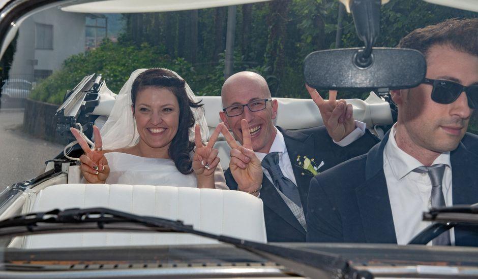 Il matrimonio di tristano e alessandra a Induno Olona, Varese