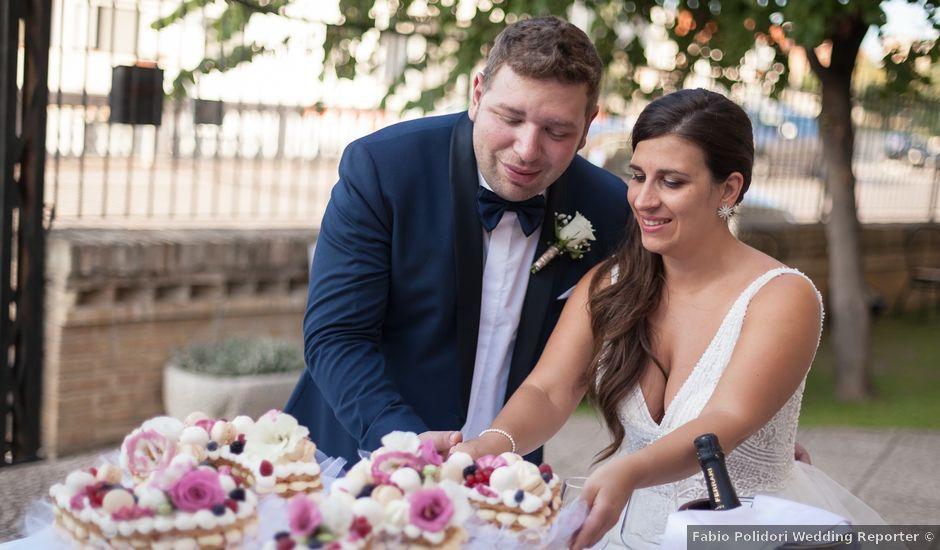 Il matrimonio di Francesco e Serena a Orsogna, Chieti