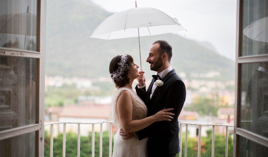 Il matrimonio di Diego e Alessandra a Castel San Giorgio, Salerno