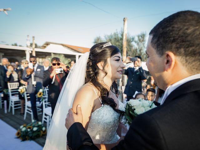 Il matrimonio di William e Annarosa a Capaccio Paestum, Salerno 20
