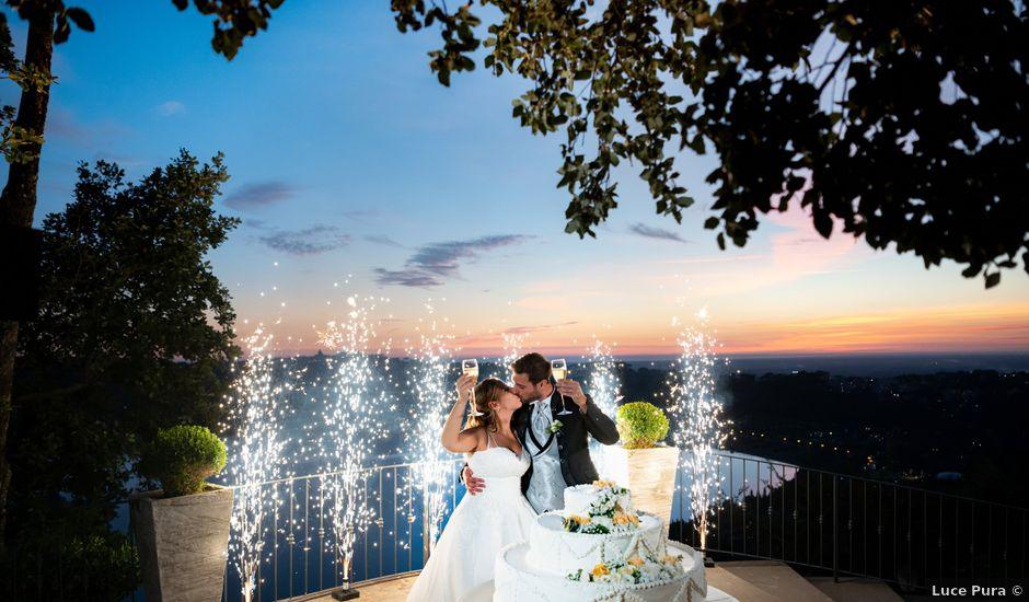 Il matrimonio di Giulia e Francesco a Roma, Roma