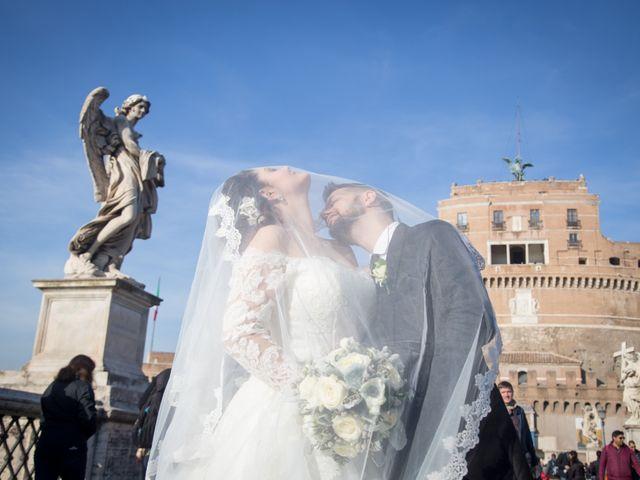 Il matrimonio di Giuliano e Francesca a Roma, Roma 27
