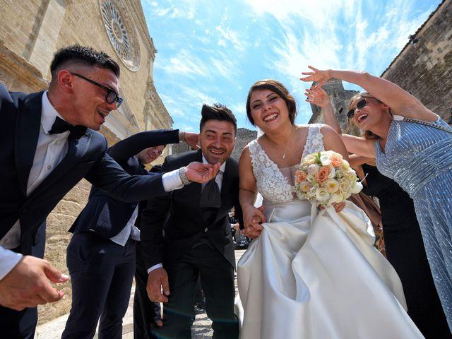 Il matrimonio di Sante e Enza a Gravina in Puglia, Bari 17