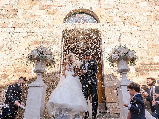 Il matrimonio di Daniele e Sara a Guardistallo, Pisa 16