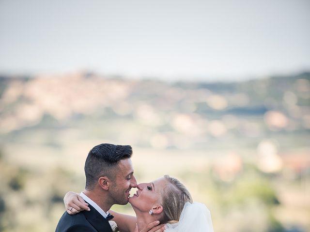 Il matrimonio di Daniele e Sara a Guardistallo, Pisa 20
