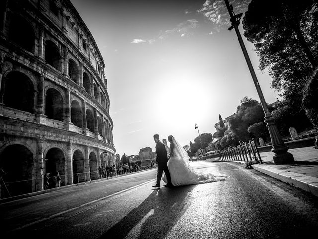 Il matrimonio di Valentina e Maurizio a Marino, Roma 5