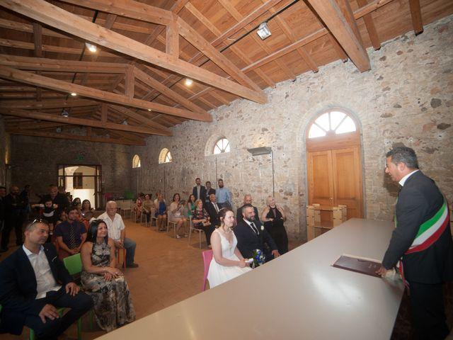 Il matrimonio di Luca e Francesca a Settimo San Pietro, Cagliari 47