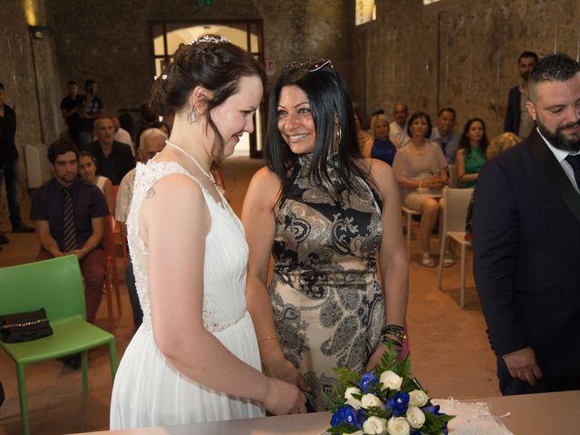Il matrimonio di Luca e Francesca a Settimo San Pietro, Cagliari 61