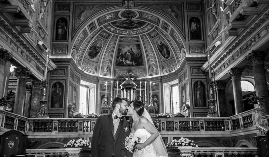 Il matrimonio di Valentina e Maurizio a Marino, Roma