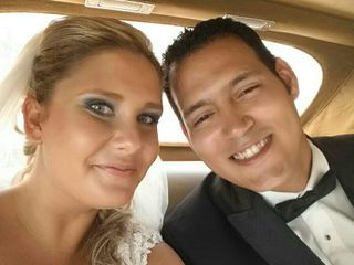 Le nozze di Claudia  e Hallam Miguel 1