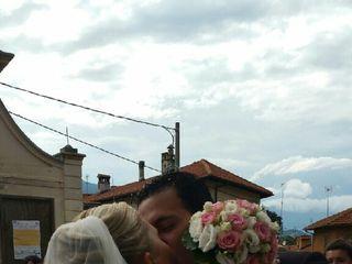 Le nozze di Claudia  e Hallam Miguel 2