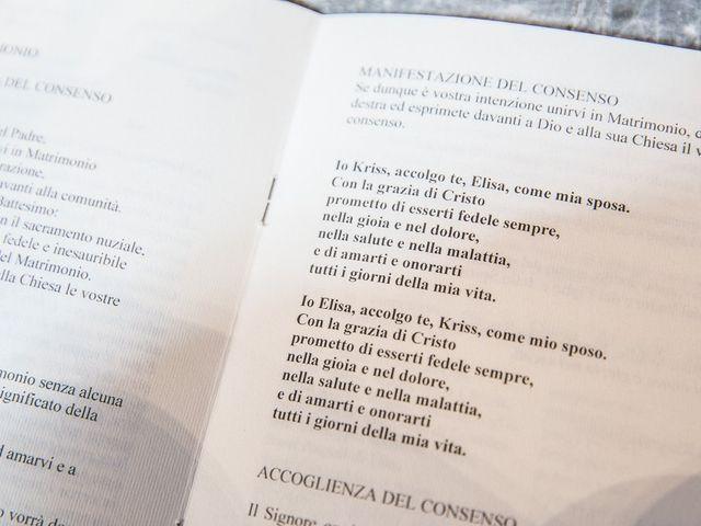 Il matrimonio di Kriss e Elisa a Castrezzato, Brescia 80
