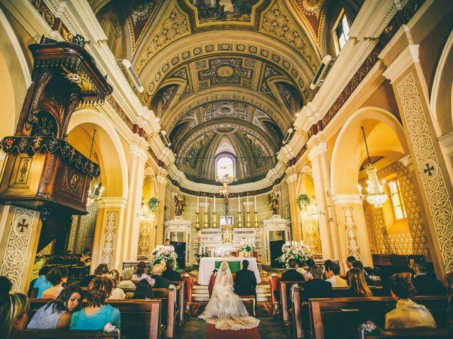 Il matrimonio di Hallam Miguel e Claudia  a Torino, Torino 28