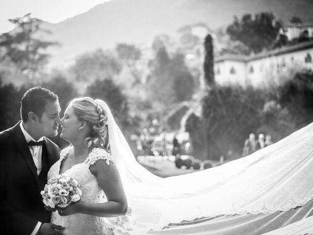 Le nozze di Claudia  e Hallam Miguel