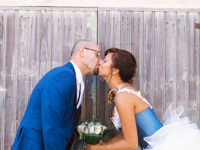 le nozze di Claudia e Christian