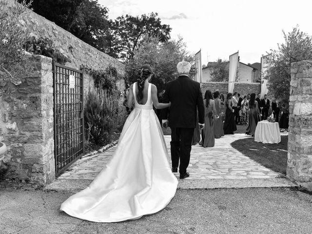 Il matrimonio di Stefano e Giulia a Scheggino, Perugia 34
