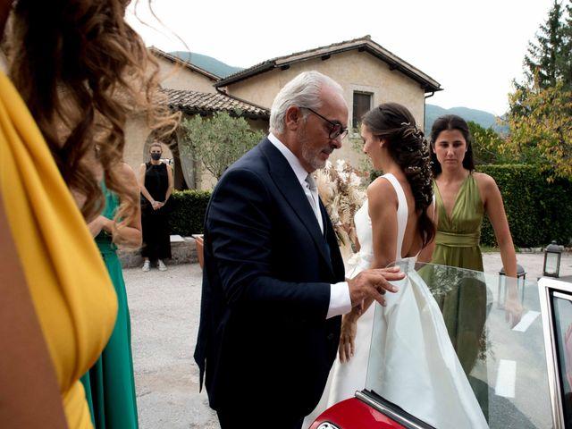 Il matrimonio di Stefano e Giulia a Scheggino, Perugia 23