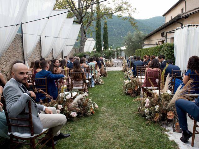 Il matrimonio di Stefano e Giulia a Scheggino, Perugia 26