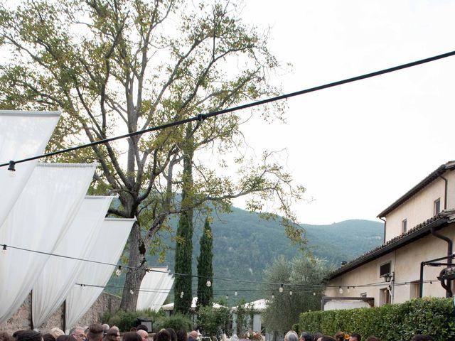 Il matrimonio di Stefano e Giulia a Scheggino, Perugia 27