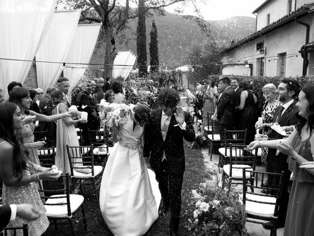 Il matrimonio di Stefano e Giulia a Scheggino, Perugia 31